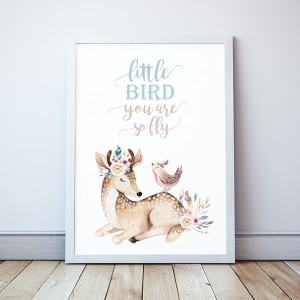 Plakat Sarenka Little Bird you are so fly