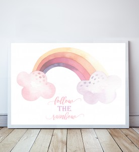 Plakat Follow the Rainbow 4