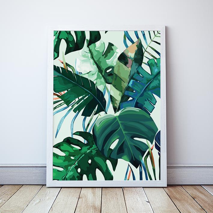 Plakat Z Motywami Roślinnymi Love Is In The Air 2